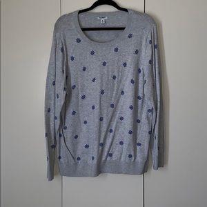 Grey nautical sweater